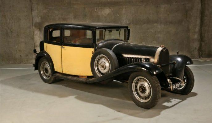 Belçika'da Ahırda Kilitli Bulunan 3 Klasik Bugatti Satılıyor!
