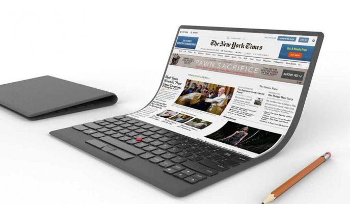 Lenovo'nun Aldığı Son Patent Katlanabilir Laptopu İşaret Ediyor!