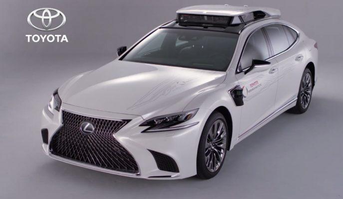 Toyota CES Fuarı'na P4 Adlı Süper Otonom Sistemini Tanıtmaya Geliyor!