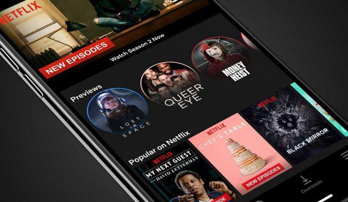 Netflix iOS Sürümüne Instagram Hikayeler'de Paylaşma İmkanı Geldi