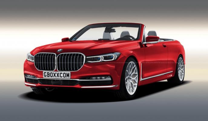 """2020 BMW 7 Serisi'ne Yapılan """"M7-Touring-Coupe-Cabrio"""" Yorumu!"""