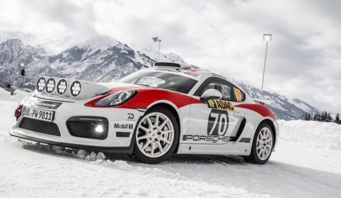Porsche Cayman GT4 Rallye'nin Üretimi Onaylandı!