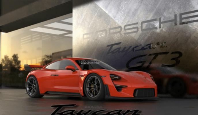 Porsche Taycan'a Yapılan Hardcore GT3 Yorum!