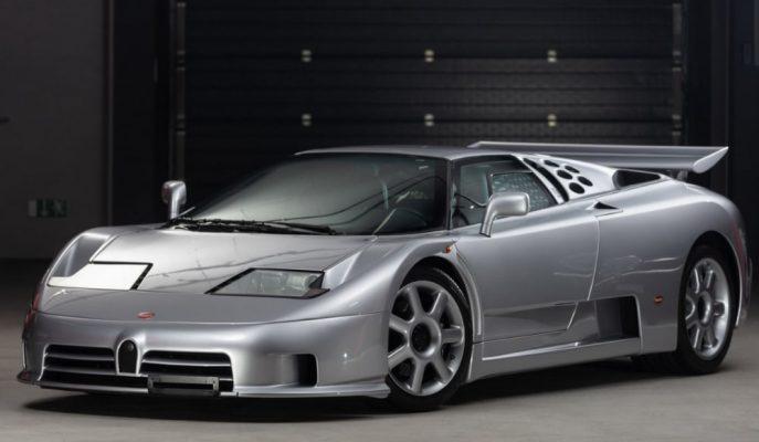 Bugatti'nin Yeniden Varoluşunu Temsil Eden 1994 EB110 SS'lerden Birisi Satışta!