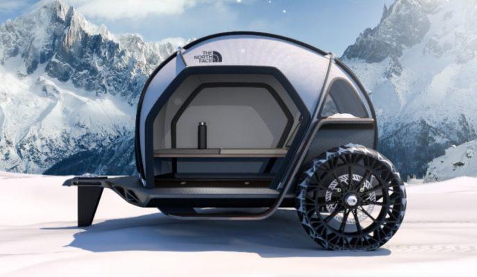 """""""BMW & The North Face""""in Olağanüstü Kamp Aracı Konsepti!"""