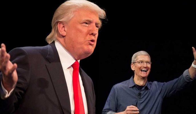 Üretimi ABD'de Yapın Diyen Trump Apple için Endişelenmiyor