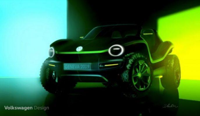 VW Concept EV Dune Buggy'i Cenevre'ye Getiriyor!