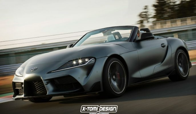 2020 Supra'nın Cabrio ve Shooting Brake Hayalleri!