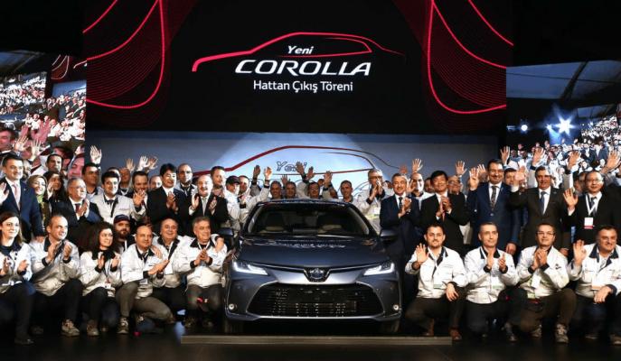 Toyota'nın Dünya Üsslerinden Sakarya'da İlk 12. Nesil Corolla Üretildi!