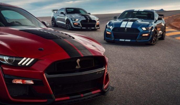 +700 Ps Güçle Yeni Ford Mustang Shelby GT500 Detroit'e Geldi!