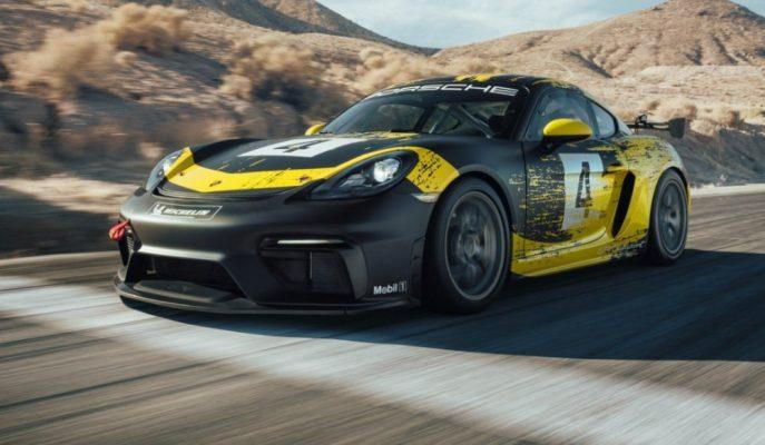 Porsche 420 Ps'lik Pist Canavarı 718 Cayman GT4 Clubsport'u Gösterdi!