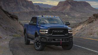 2019 RAM 2500 Power Wagon Hayran Bırakacak Motoruyla Detroit Fuarı'na Geldi!