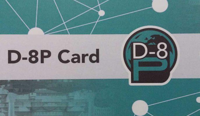 Yerel Para Birimleri ile Ticaret için D8P Card Geliştirildi