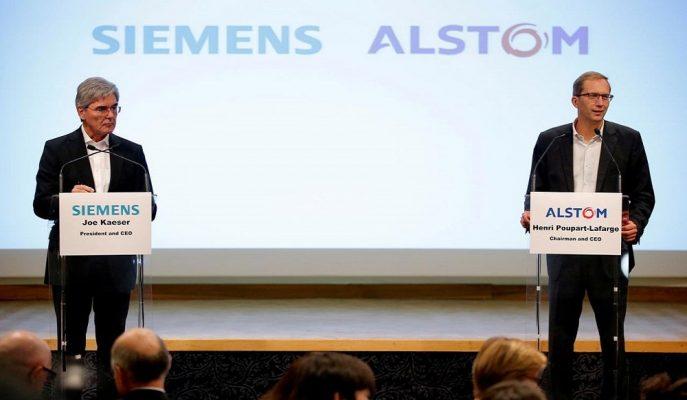 AB Komisyonu Alman Siemens ile Fransız Alstom'un Birleşmesini Onaylamadı