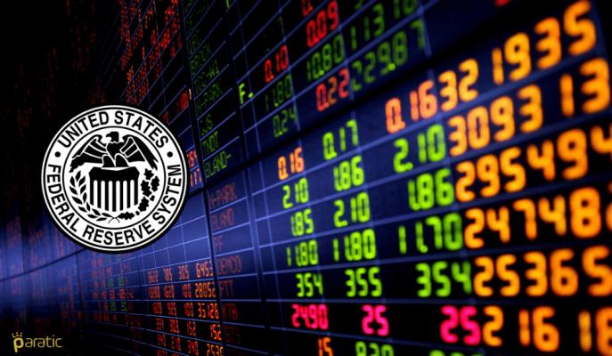 ABD Hazine Kıymetlerinde Getiri Verimi Artarken Borsa Endekslerinde Nasdaq Negatif Ayrıştı