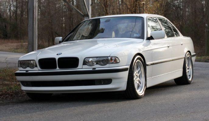 """E39 BMW M5 Motorlu """"2001 E38 740i"""" Satılıyor!"""
