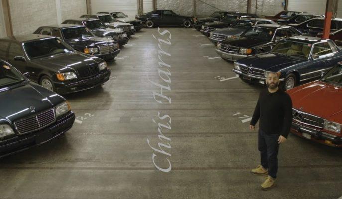 Top Gear'ın Chris Harris'i Eşine Az Rastlanacak Bir Garaja Giriyor!