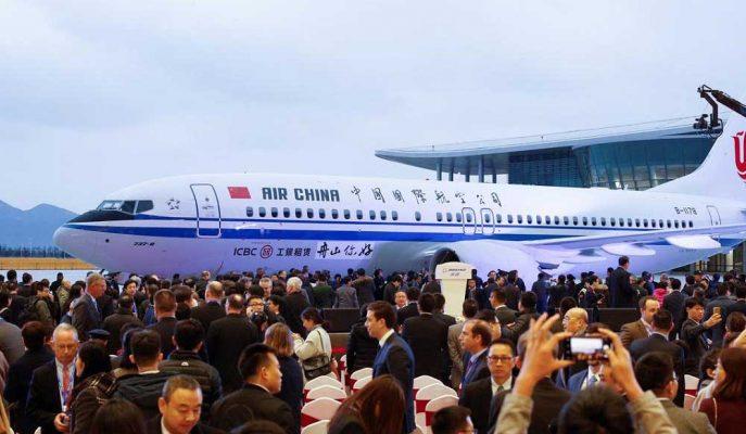 Çin'de Güçlü Talep Gören Boeing'in Hisseleri Yeni Rekor Seviyeye Ulaştı