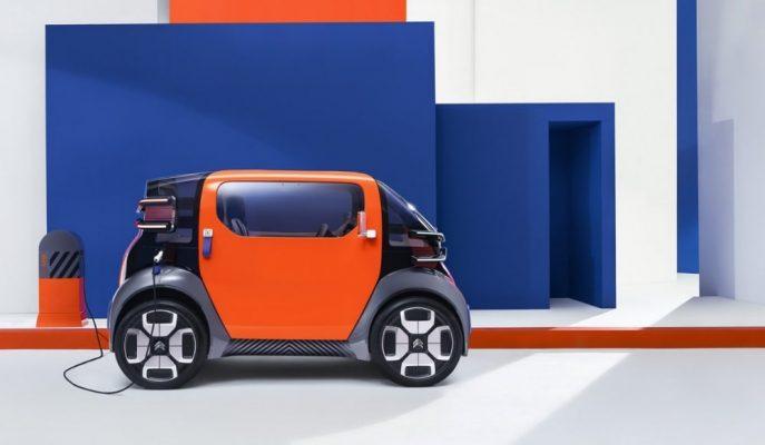 """Citroen'den Şehir Odaklı Bir Otomobil: """"Ami One Concept"""""""