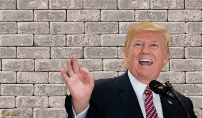 Donald Trump'ın Duvar Çağrısında Tehdit İçermemesi Dikkat Çekerken, Atıflar Havada Uçuştu