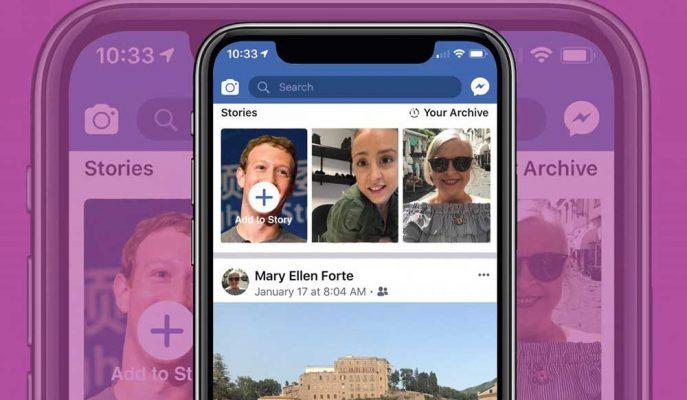 Facebook Hikayeler Bölümünden Etkinlik Paylaşma Özelliğini Kullanıma Sunuyor