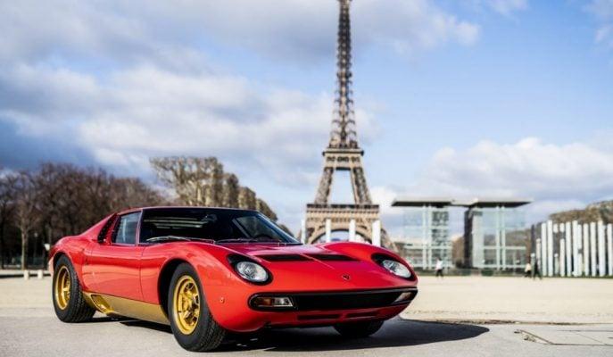 Restore Edilen 1966 Lamborghini Miura SV FIA Başkanı'na Hediye Edildi!