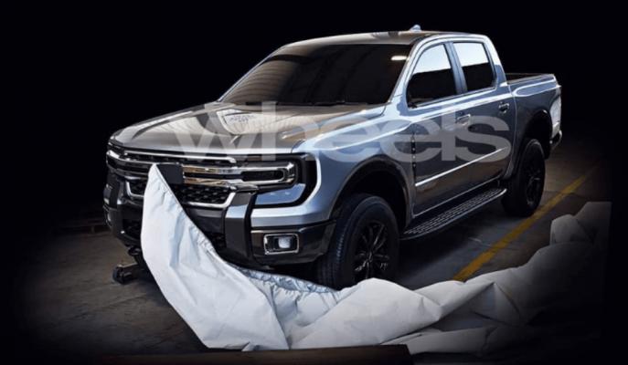 Gördüğümüz Yeni Ford Ranger Prototipi mi?