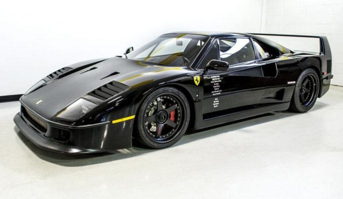 Fast N 'Loud'un Eşsiz Ferrari F40'ı Açık Artırmayla Satılacak!
