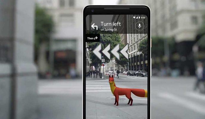 Google Haritalar Uygulaması için Sanal Gerçeklik Özelliğini Test Ediyor