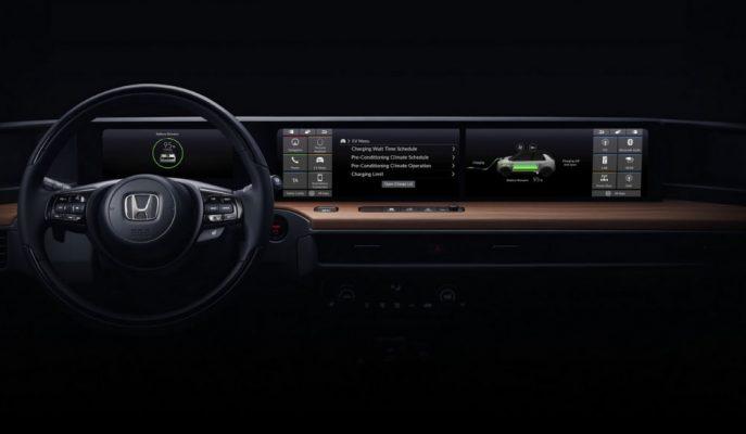 Honda EV Urban Cenevre'ye Ultra Geniş Ekranla Geliyor!