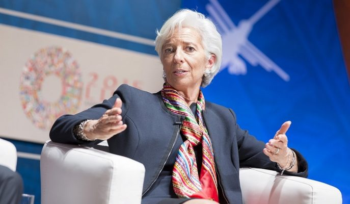 """IMF Başkanı Lagarde: """"Küresel Ekonomi Beklentilerin Üzerinde Hızla Yavaşlıyor"""""""