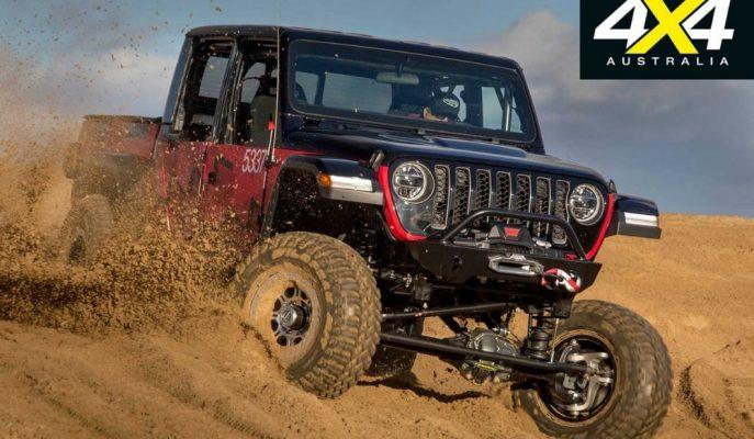 2020 Jeep Gladiator Gerçek Gücünü Kaliforniya Çöl Yarışında Gösterecek!