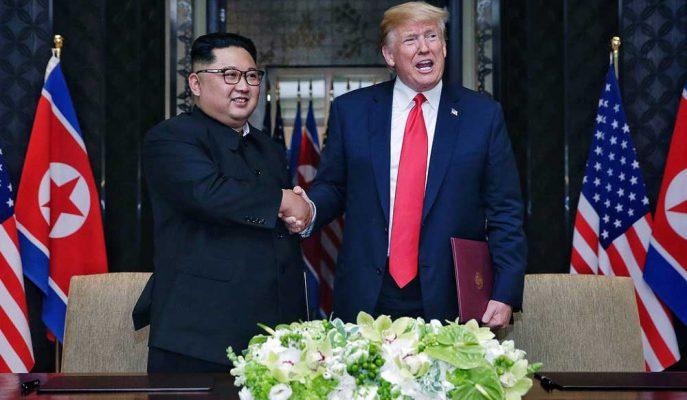 Kim'i İkna Etmeye Çalışan Trump Bunun için Kuzey Kore Ekonomisini Kullanıyor