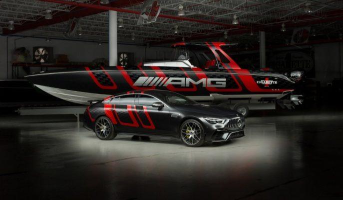 "Mercedes-AMG & Cigaratte Racing'in 1.600 Ps'lik ""41 Carbon Edition"" Sürat Teknesi!"