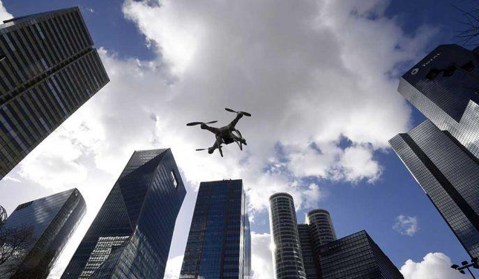 NASA Geliştireceği Yazılım Sayesinde Drone'ların Trafiğini Kontrol Edecek