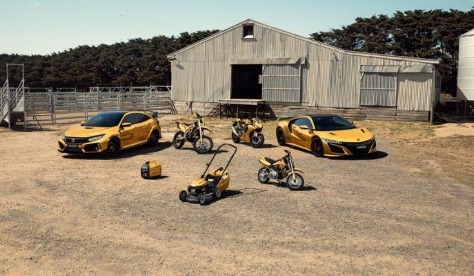 """Honda, Avustralya'daki 50. Yılına Özel """"Golden Series"""" Modellerini Gösterdi!"""