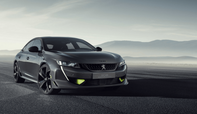 Peugeot Cenevre'ye Hızlı 508 Sport Engineered Concept'i Getiriyor!