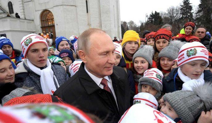 Putin Rusları Daha Büyük Ailelere Teşvik Etmek için Etkili Sözler Verdi!