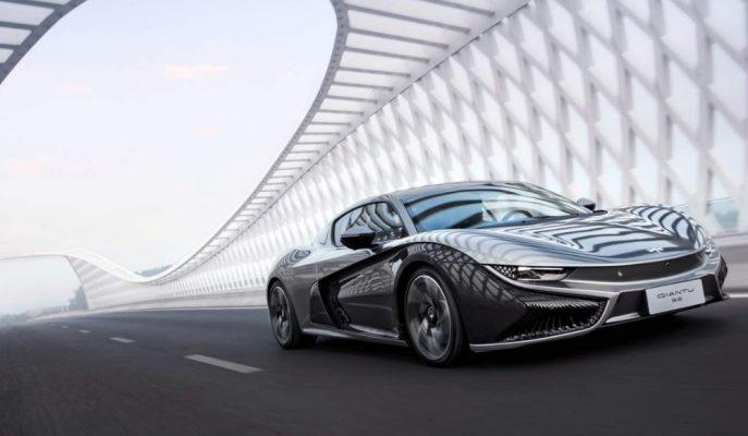 """Çinli BMW i8 """"Qiantu K50 EV Sports"""" NY Auto Show'a Geliyor!"""