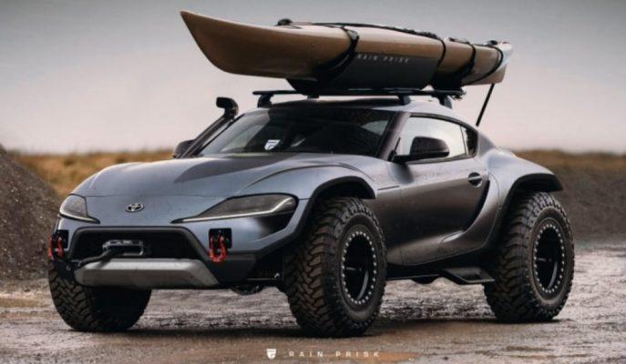Toyota Supra'nın 4×4 Off Road Versiyonuna Ne Dersiniz?