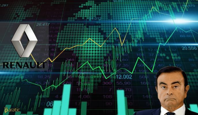RENA %2.0'a Yakın Değer Kaybederken, Renault ve Ghosn Gelişmesi