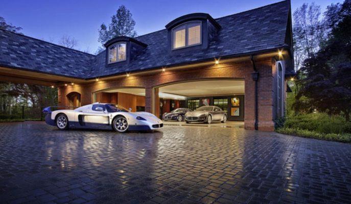 Zenginlerin Arabaları için Yaptırdığı Dünyanın En Lüks ve Pahalı Rüya Garajları!