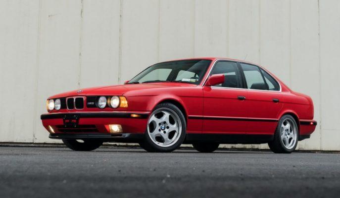 Koleksiyonluk BMW E34 M5 İyi Bir Fiyata Satılıyor!