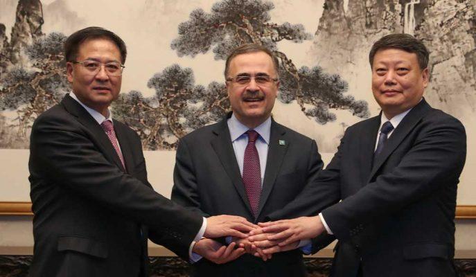 Saudi Aramco Çin'de 10 Milyar Dolarlık Ortak Girişim Projesi için Anlaştı!