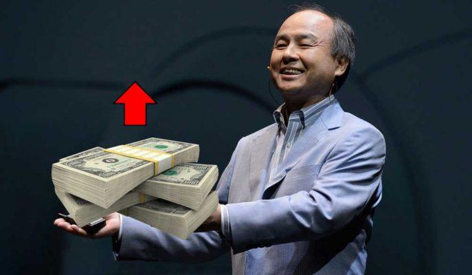 Softbank'ın Hisseleri %17 Yükseldi, CEO'su Günde 3 Milyar $ Kazandı!