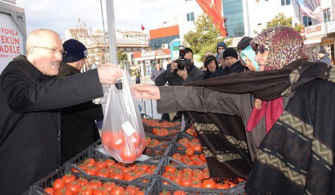 Tanzim Satışlarıyla Gıda Fiyatları Yarı Yarıya Düştü