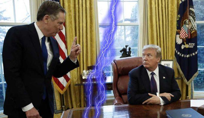 Trump-Lighthizer Anlaşmazlığı Yetersiz ve Zayıf Bir ABD-Çin Anlaşmasıyla Sonuçlanabilir
