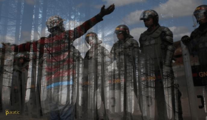 Venezuela'da Göstericilere Yönelik Müdahaleler Ölüm Saçıyor!