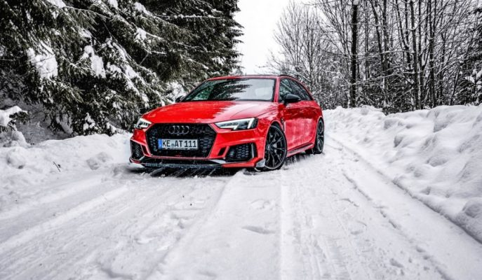 ABT'nin +500 Ps'le Yeri Titretecek Kırmızı Audi RS4 Avant'ı