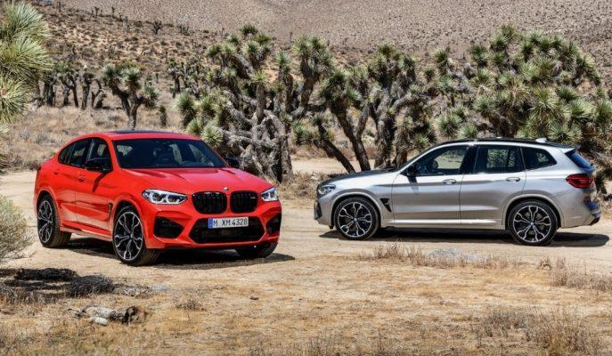 BMW'nin Yeni Çılgın SUV'ları X4 M ve X3 M'in Kalkış Süresi Şaşırtıcı!